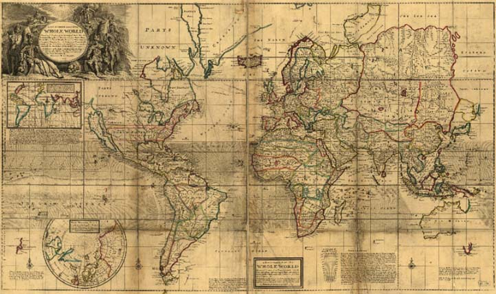Персональный сайт Древние карты